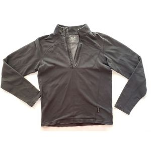 Mountain Hardwear Mens Sweatshirt 1/4 Zipper S